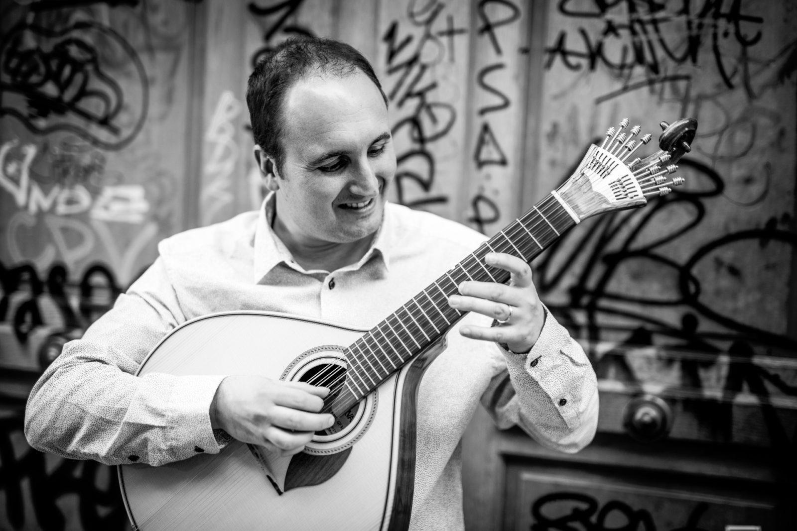 Mickaël Replat, guitare portugaise